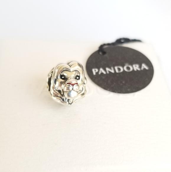 Pandora Jewelry - Pandora Disney, The Lion King Simba Charm Silver